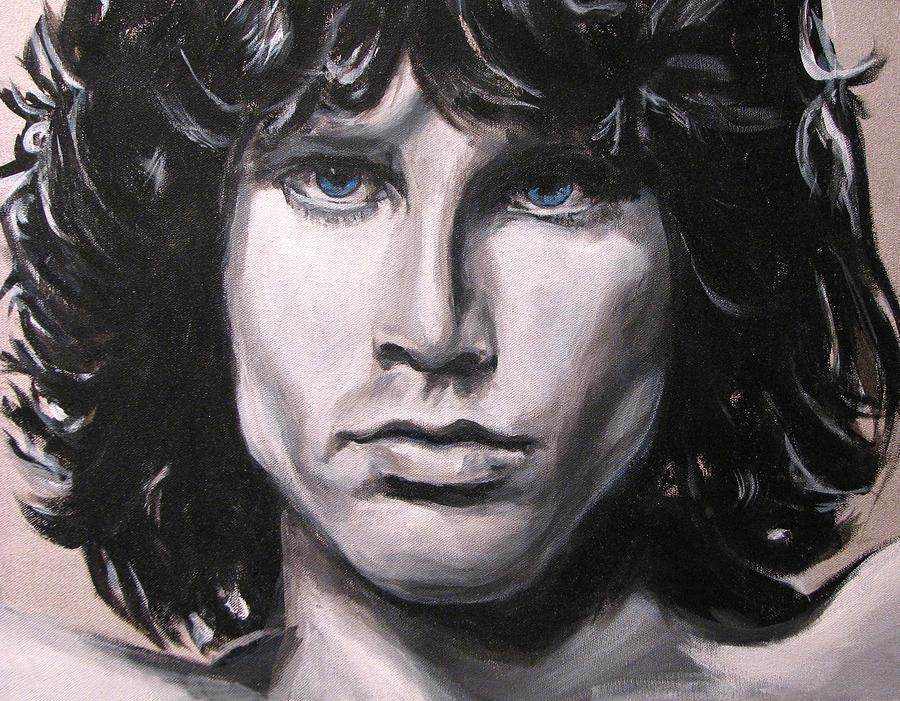 Jim Morrison - The Doors Painting  - Jim Morrison - The Doors Fine Art Print