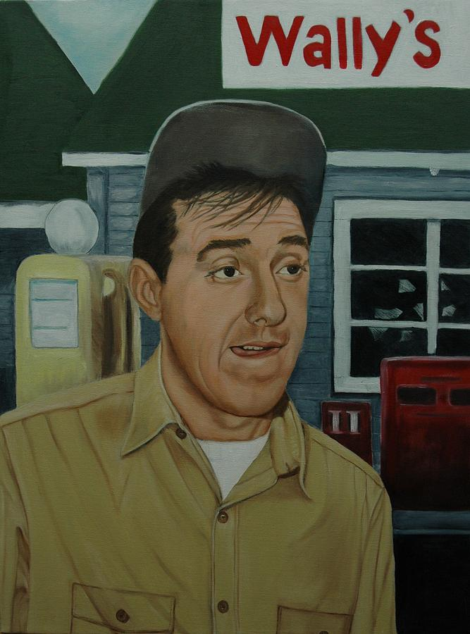 Jim Nabors As Gomer Pyle Painting
