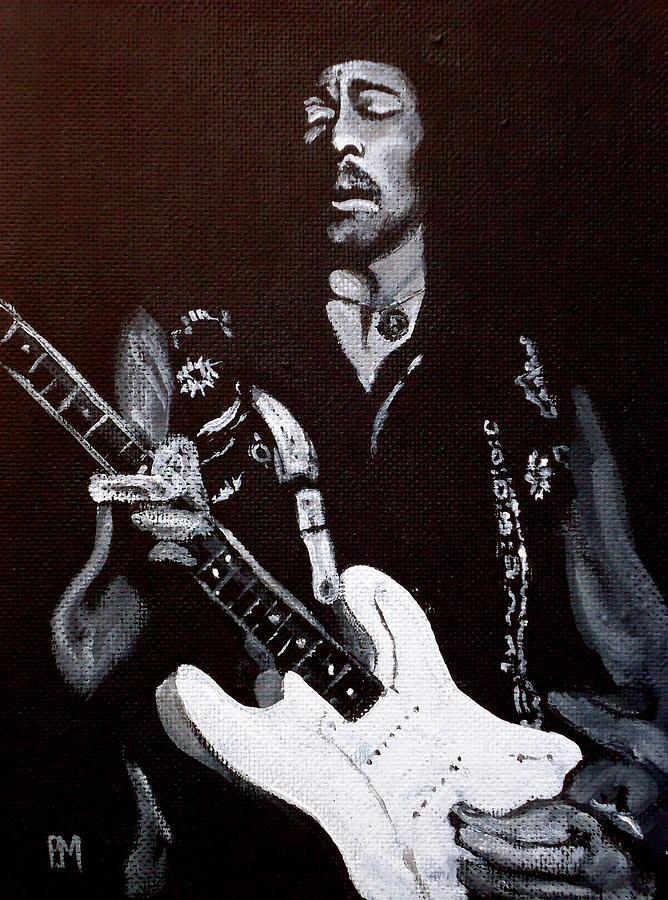Jimi Hendrix Painting - Jimi Hendrix by Pete Maier