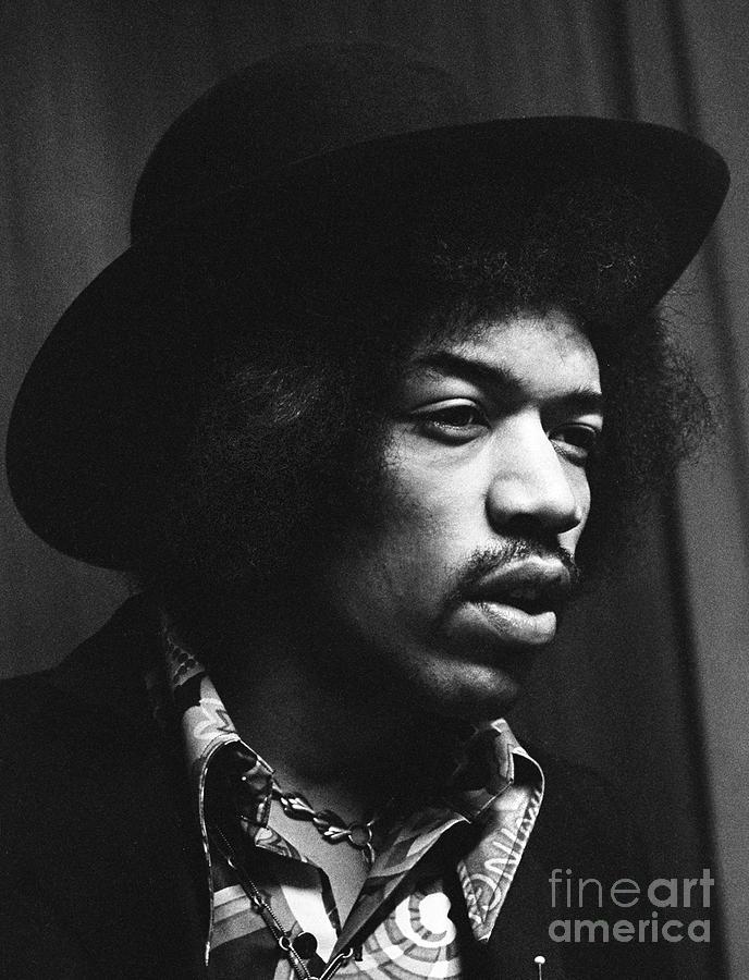 Jimi Hendrix Profile Photograph