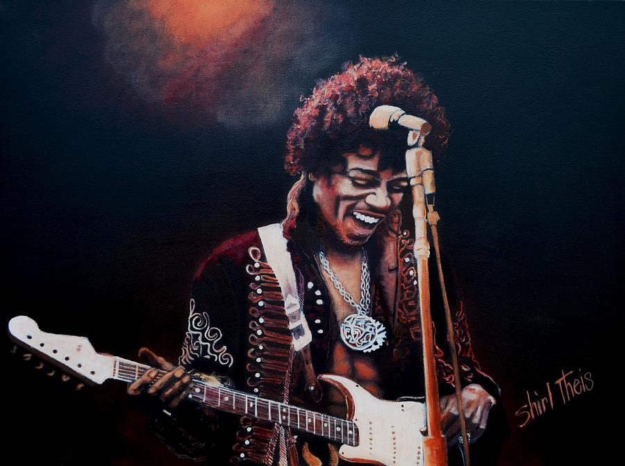 Jimi Hendrix Painting  - Jimi Hendrix Fine Art Print