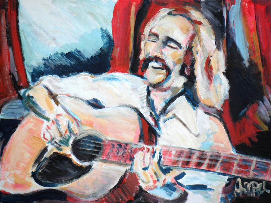 Jimmy Buffet Havanna Day Dreamin  Painting  - Jimmy Buffet Havanna Day Dreamin  Fine Art Print