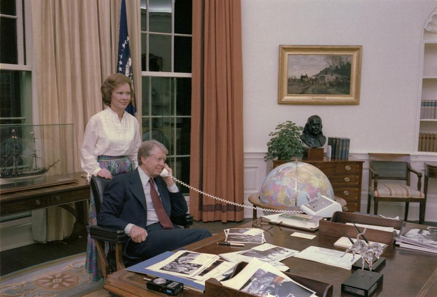 Jimmy Carter And Rosalynn Carter Photograph