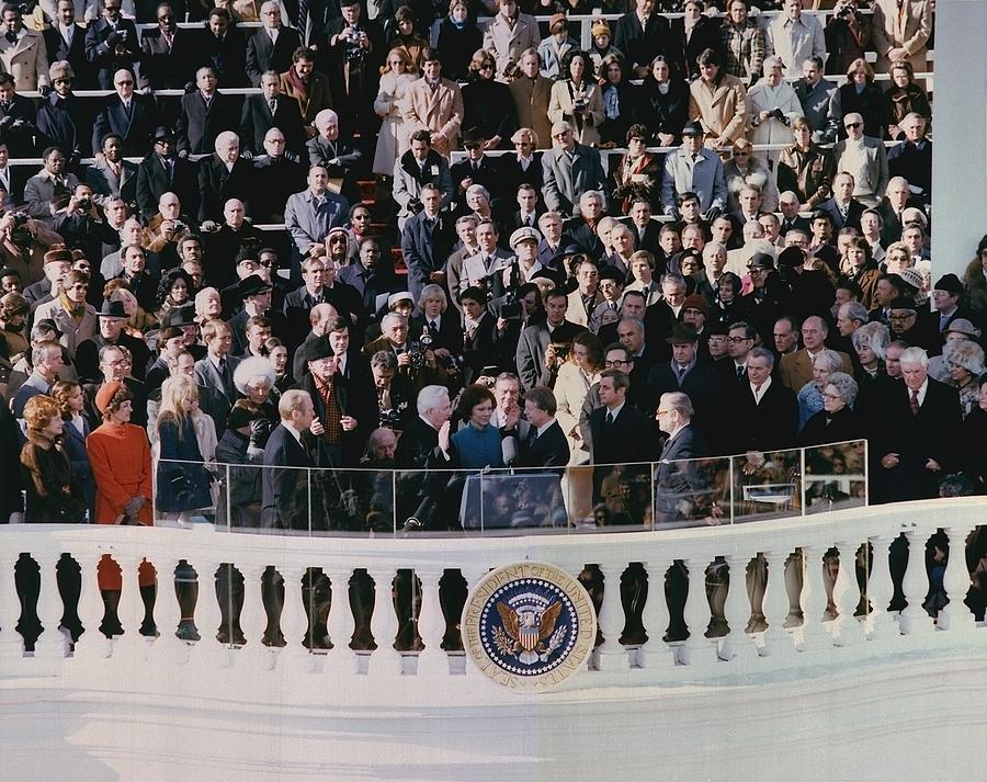 Jimmy Carters 1976 Inauguration Photograph