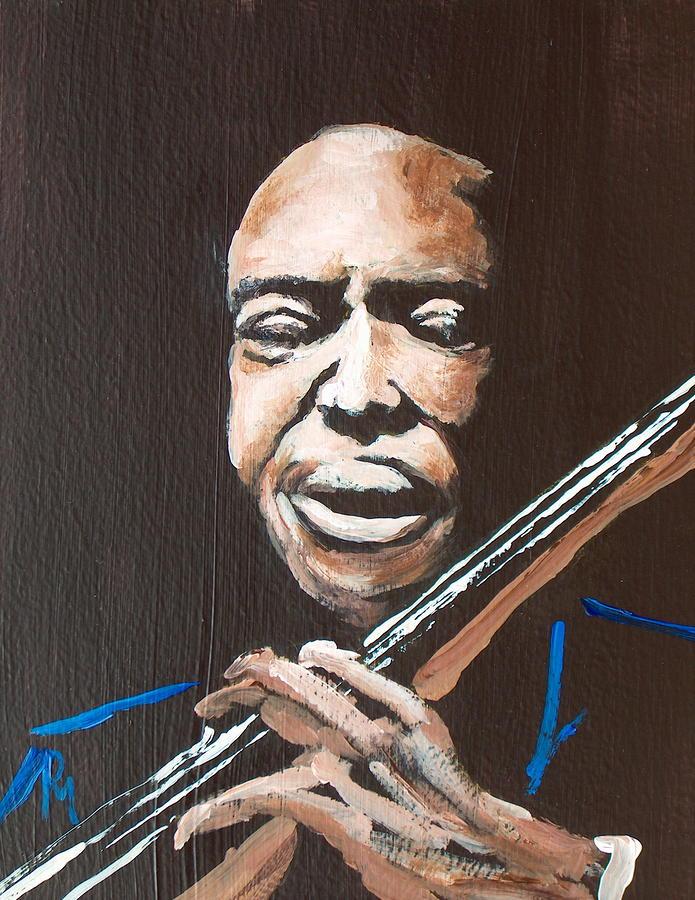 Jimmy Garrison Painting