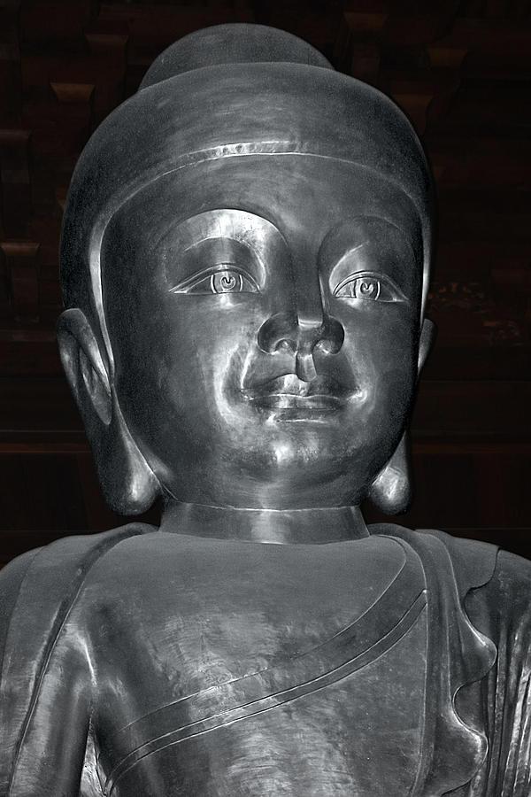 Jingan Silver Buddha - Shanghai China Photograph