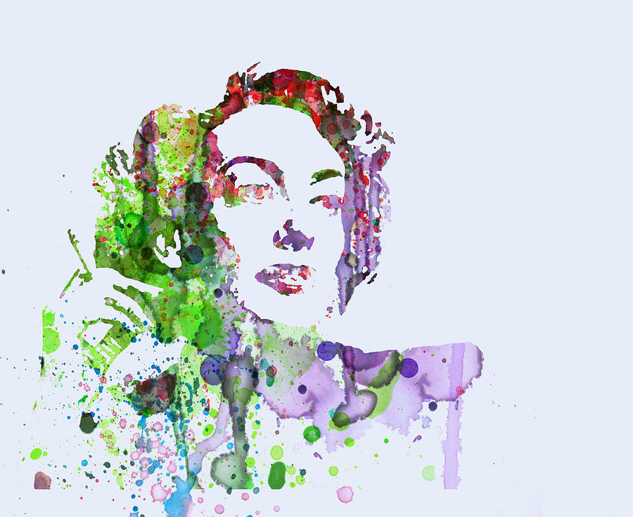 Joan Crawford Digital Art  - Joan Crawford Fine Art Print
