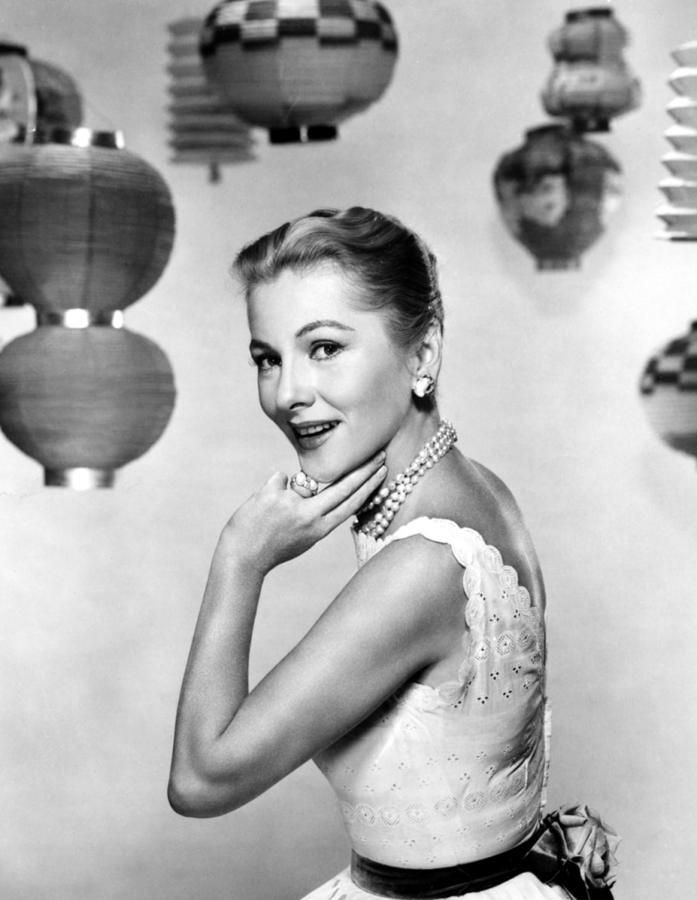 Joan Fontaine, Mgm, 1957 Photograph