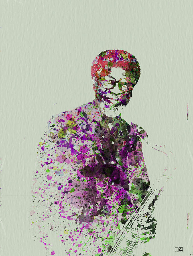 Joe Henderson Watercolor  Painting  - Joe Henderson Watercolor  Fine Art Print