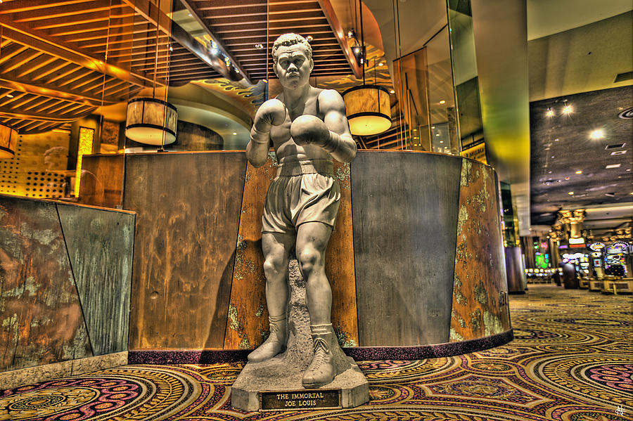 Joe Louis In Las Vegas Photograph  - Joe Louis In Las Vegas Fine Art Print