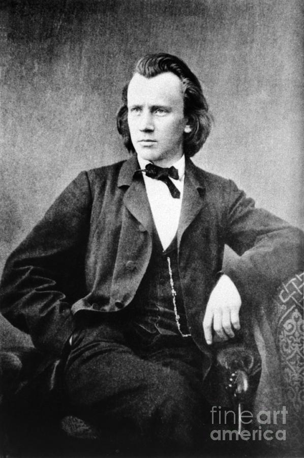 Johannes Brahms, German Composer Photograph