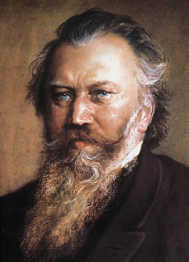 Johannes Brahms Photograph