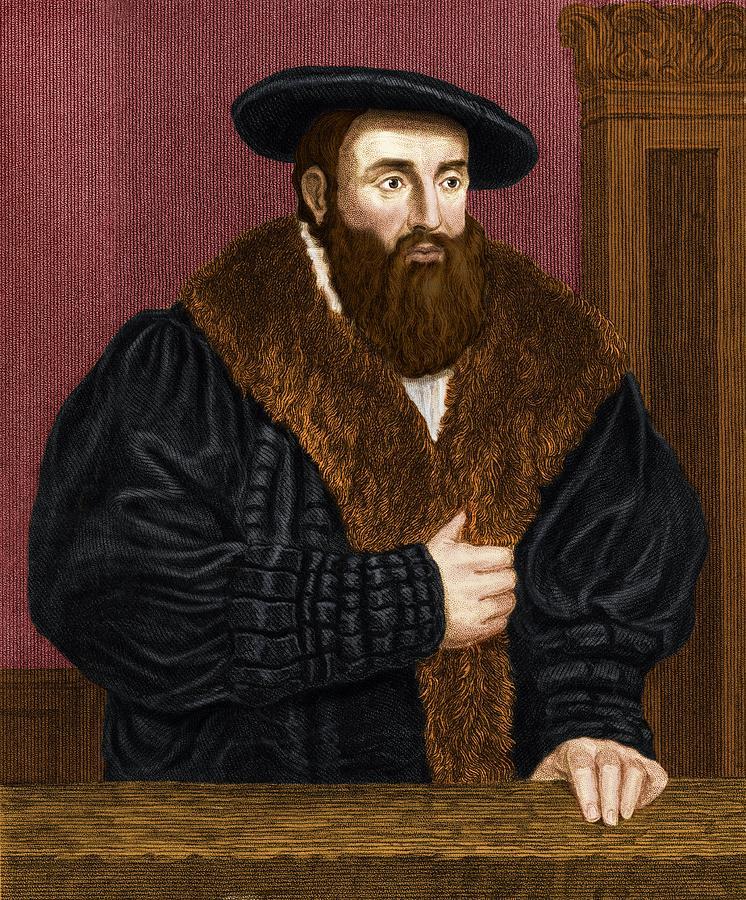 Johannes Kepler, German Astronomer Photograph