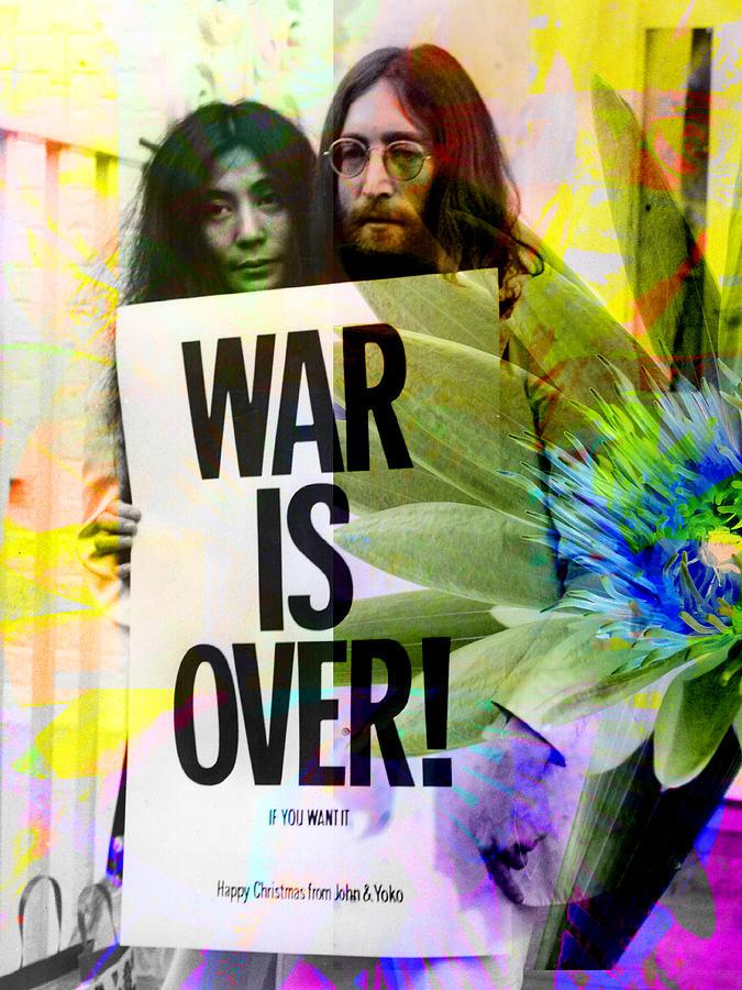 John And Yoko - War Is Over Photograph
