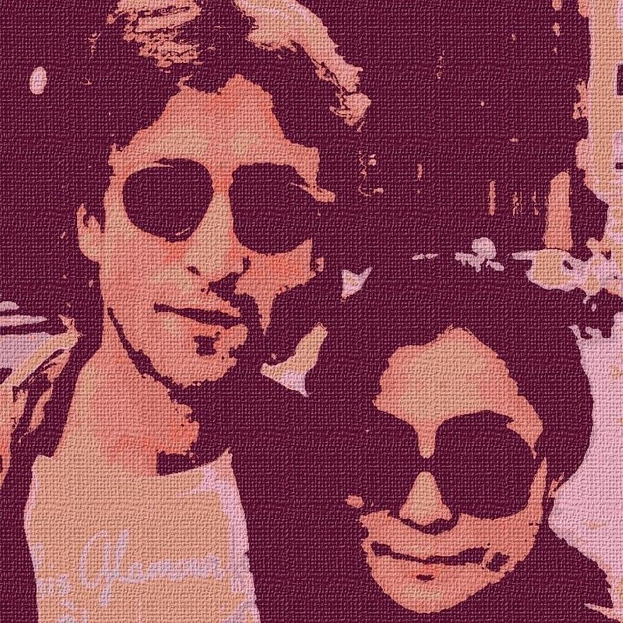 John And Yoko Digital Art 