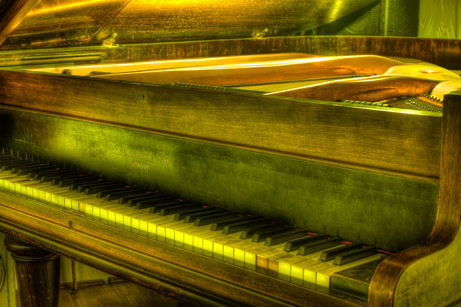 John Broadwood And Sons Piano Photograph  - John Broadwood And Sons Piano Fine Art Print
