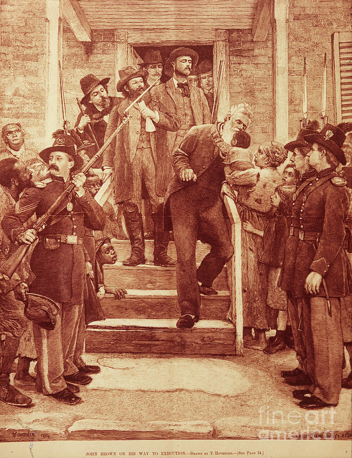 John Brown: Execution Photograph