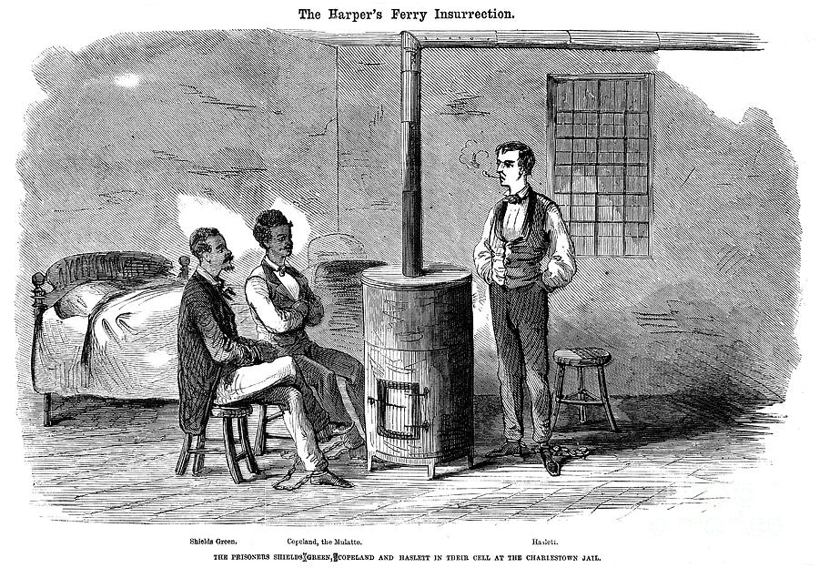 John Brown Raid, 1859 Photograph  - John Brown Raid, 1859 Fine Art Print