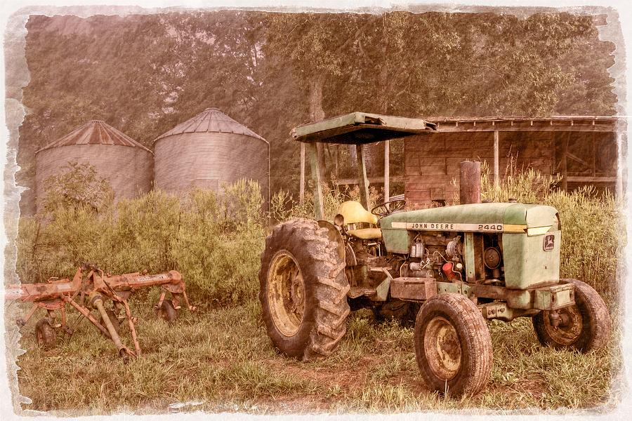 John Deere Antique Photograph  - John Deere Antique Fine Art Print