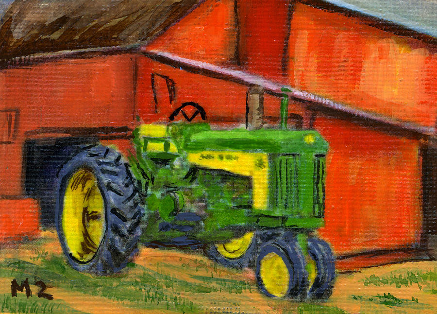 Jd Tractor Paint : John deere green by mary mapes