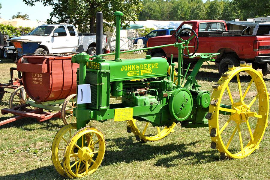 Old John Deere Tractors : Old john deere tractor car interior design