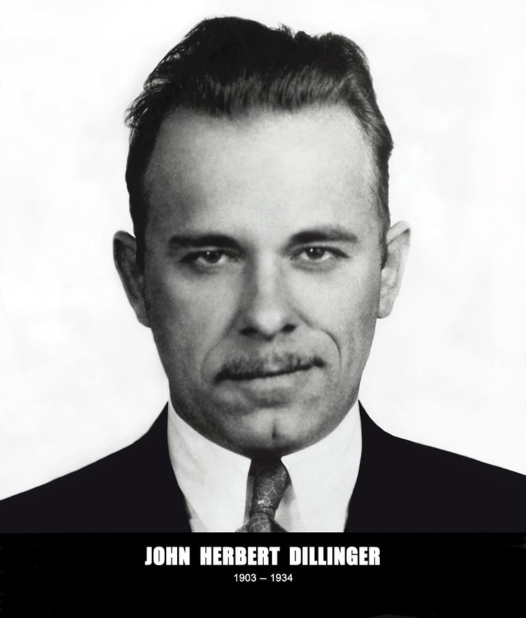 John Dillinger - Bank Robber And Gang Leader Photograph  - John Dillinger - Bank Robber And Gang Leader Fine Art Print
