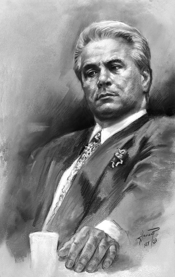 John Gotti Drawing