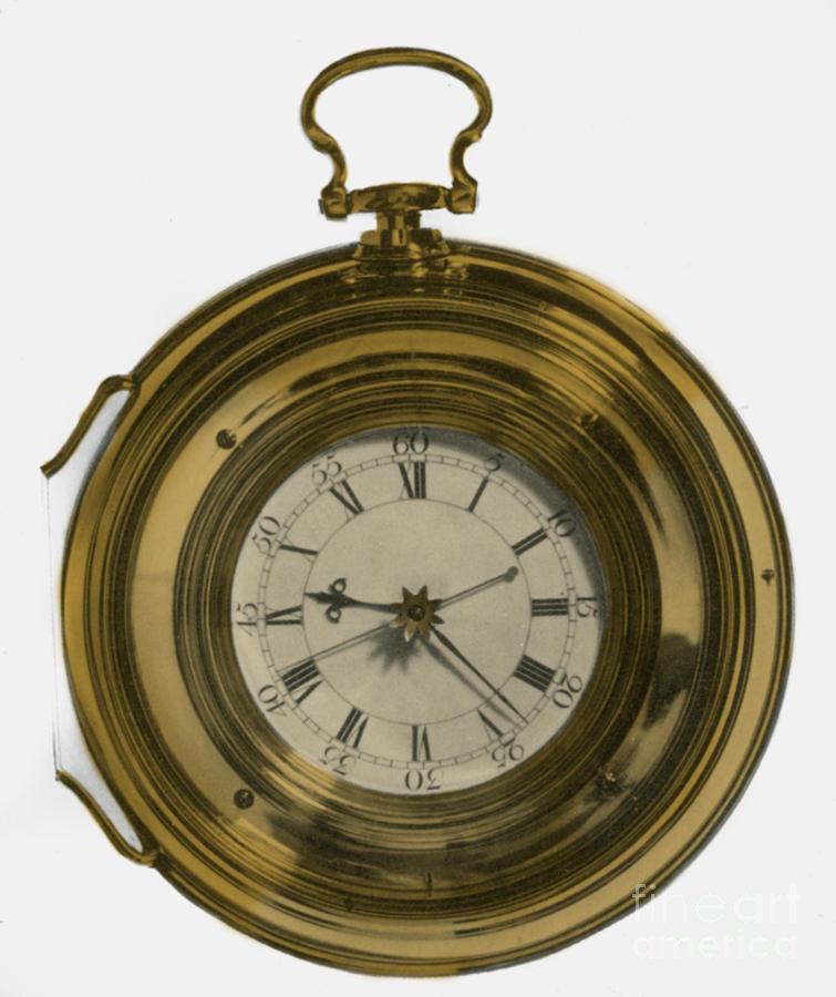 John Harrisons Last Marine Timepiece Photograph