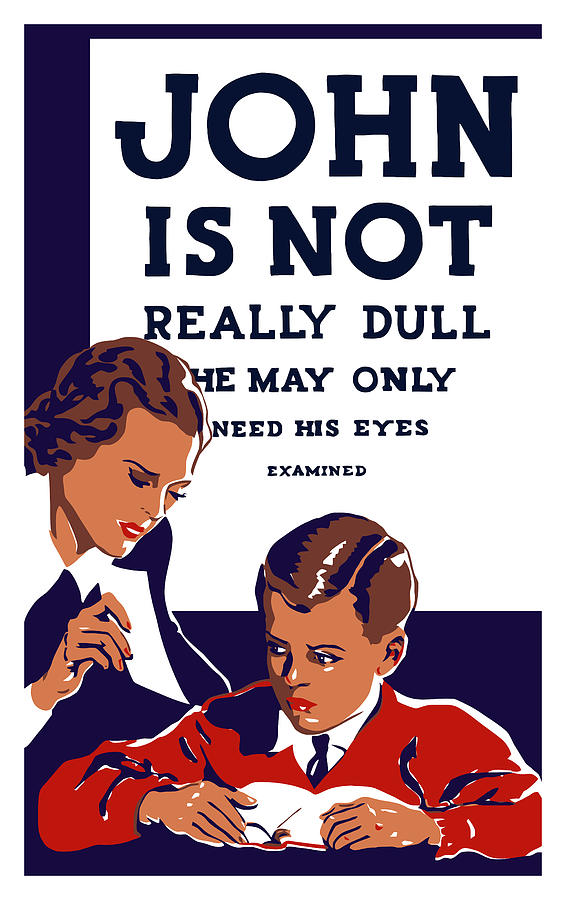 John Is Not Really Dull Painting  - John Is Not Really Dull Fine Art Print