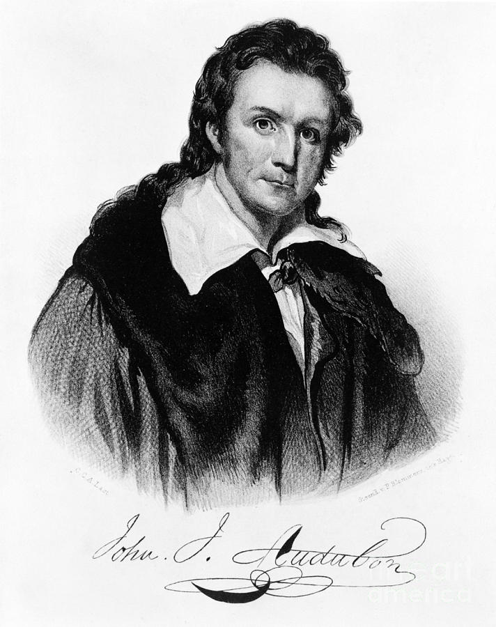 John James Audubon, French-american Photograph