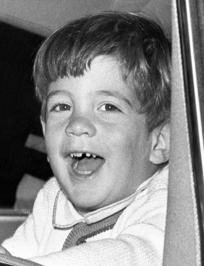 John Kennedy Jr. Smiles Photograph