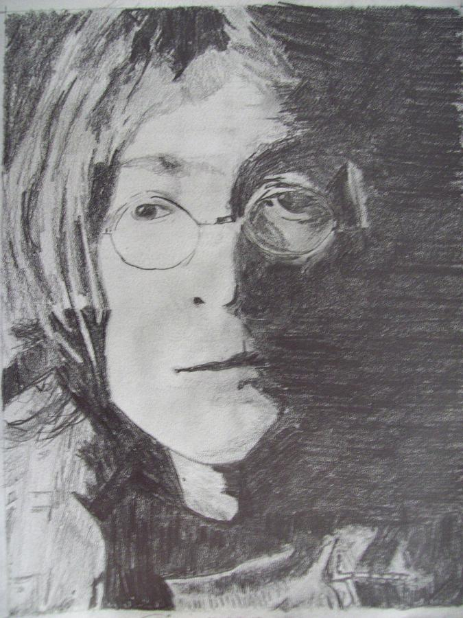 John Lennon Pencil Drawing