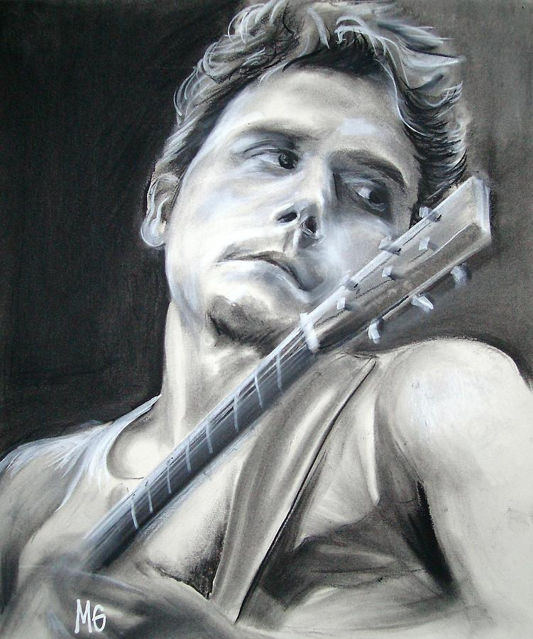 John Mayer Cool Painting: John Mayer Drawing By Morgan Greganti