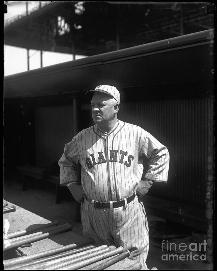 John Mcgraw -  New York Giants Photograph