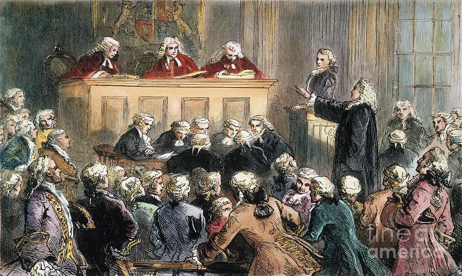 John Peter Zenger Trial Photograph