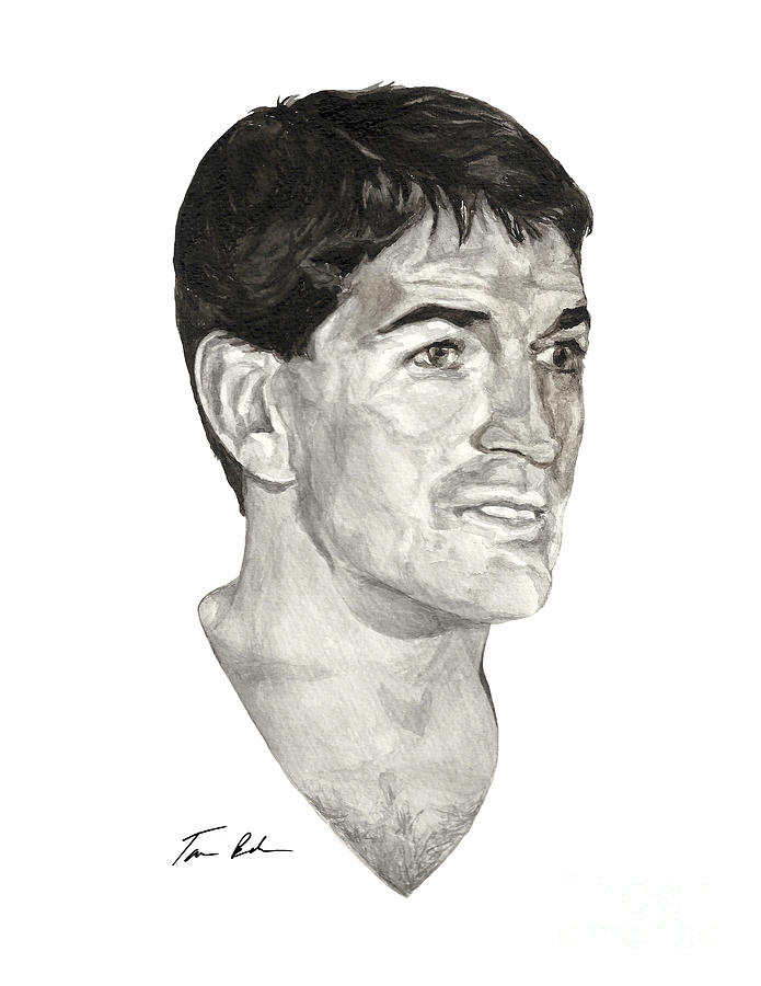 John Stockton Painting