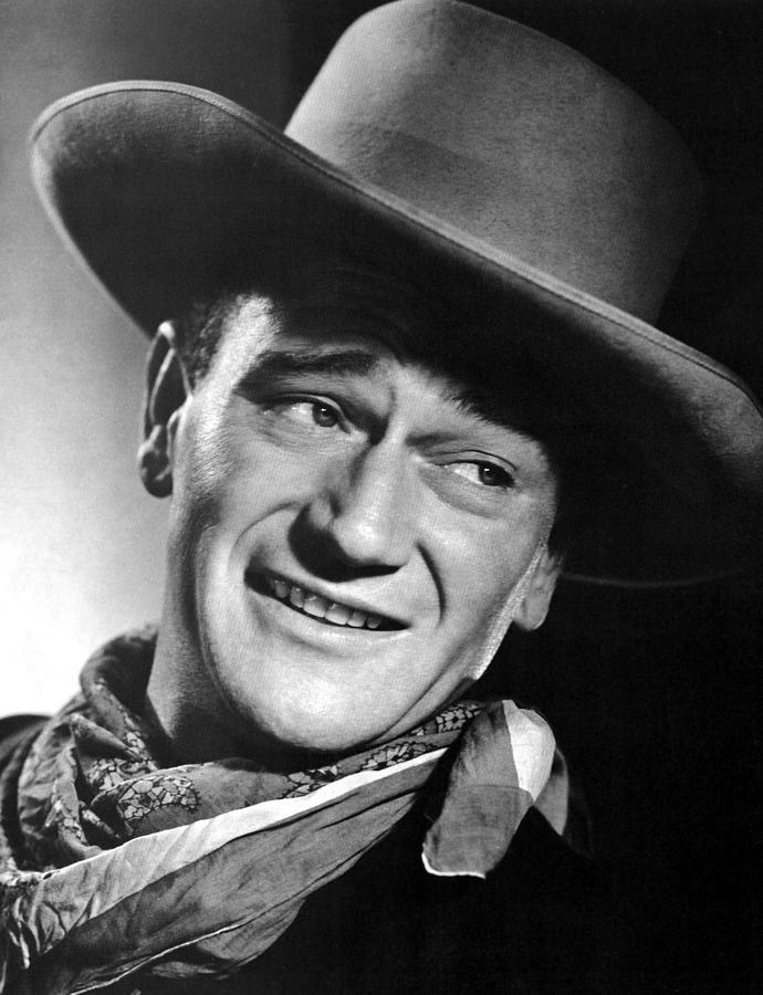 John Wayne, Ca 1940s Photograph