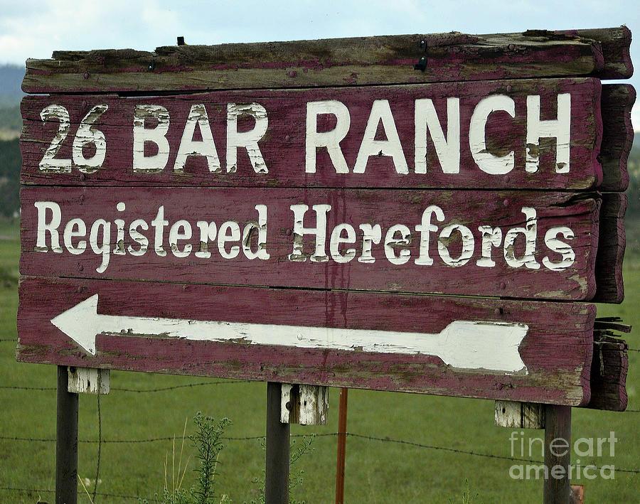 John Waynes Ranch Photograph