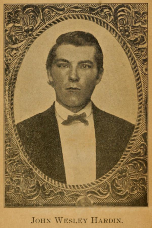 John Wesley Hardin 1853-1895, Claimed Photograph