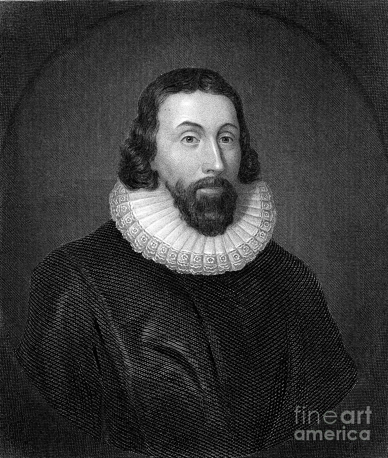 17th Century Photograph - John Winthrop (1588-1649) by Granger