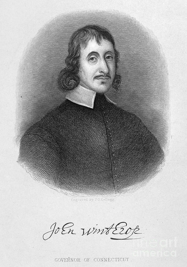 John Winthrop The Younger Photograph