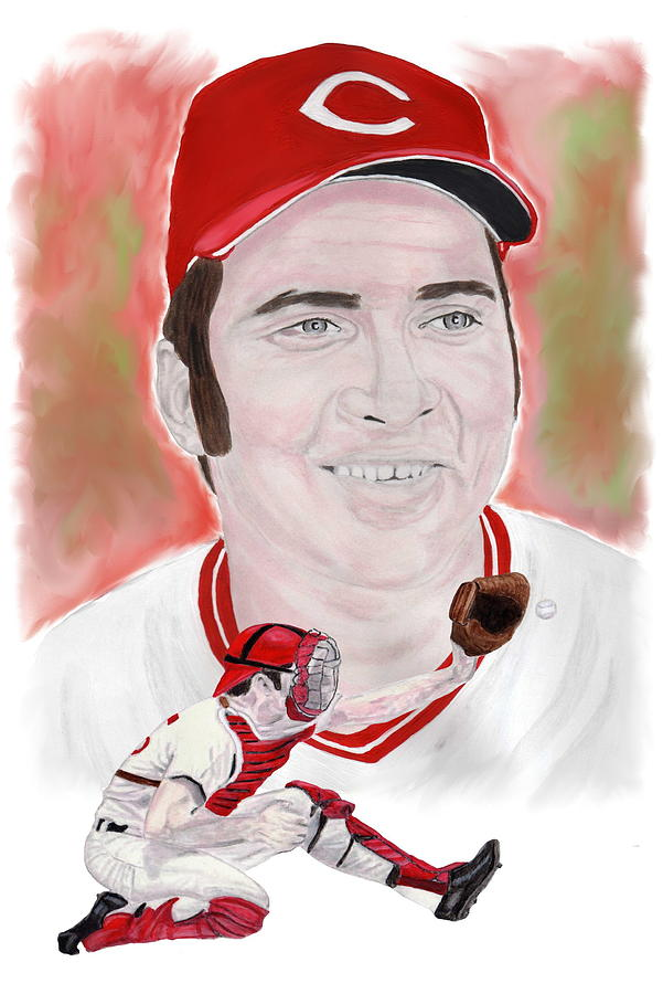 Johnny Bench Painting