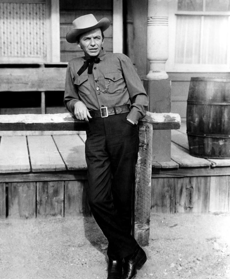 Johnny Concho, Frank Sinatra, 1956 Photograph
