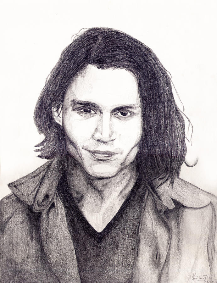 Johnny Depp Drawing