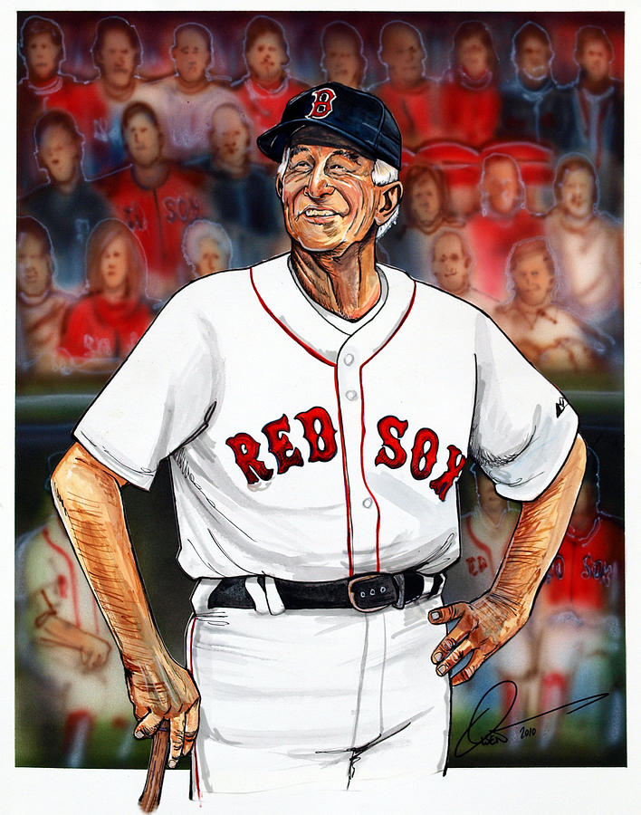 Johnny Pesky  Painting