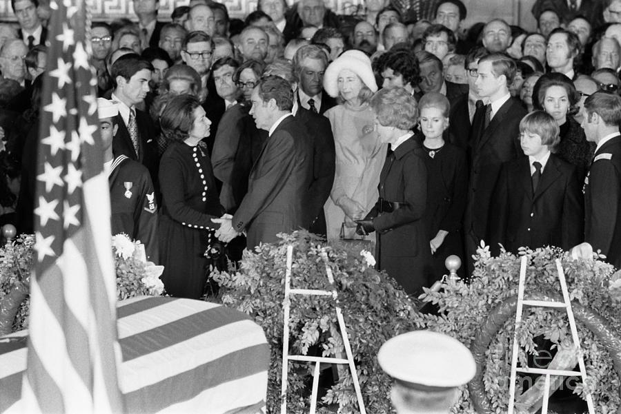 Johnson Funeral, 1973 Photograph
