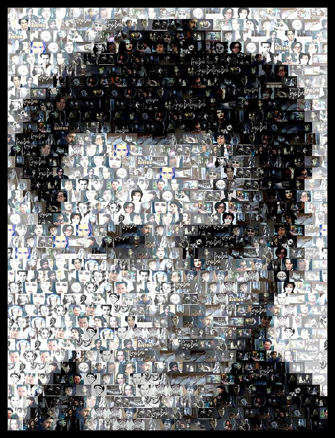 Johynny Depp 21 Jump Street Mosaic Digital Art  - Johynny Depp 21 Jump Street Mosaic Fine Art Print