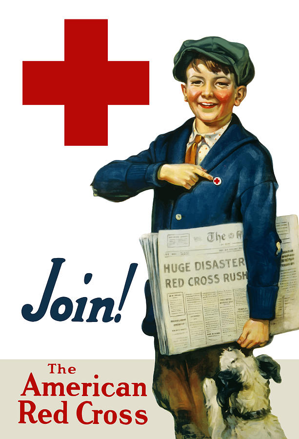 Join The American Red Cross Painting