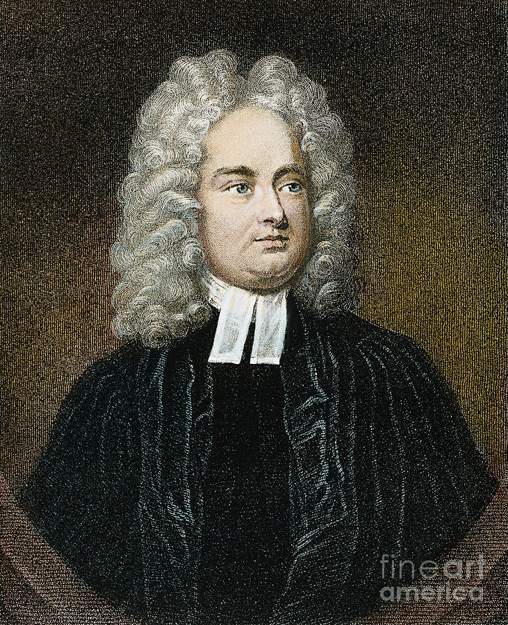 Jonathan Swift (1667-1745) Photograph  - Jonathan Swift (1667-1745) Fine Art Print