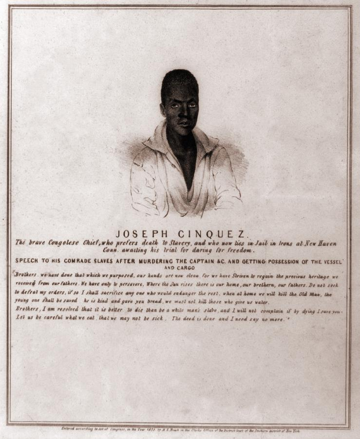 Joseph Cinquez, Lead Fifty-four African Photograph